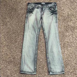Men's True Religion Limited Edition Silver Jeans